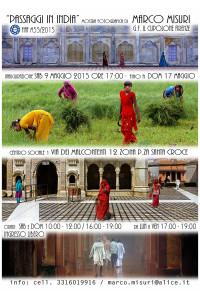 Passaggi in India Locandina 10x15